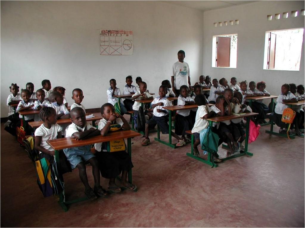Ecole primaire - en classe