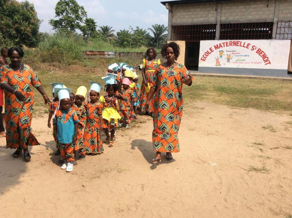 Ecole maternelle - Les diplômés de fin d'année !